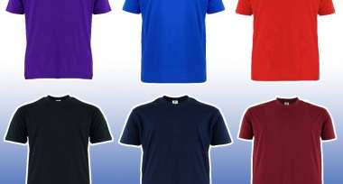 Microfiber Performance T-Shirt For Plus Size
