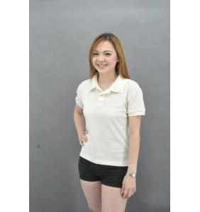 Clearance 100% Cotton Polo - Cream