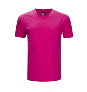 Foursquare T-Shirt RoundNeck T-Shirt (160gsm) - Fuchsia
