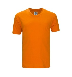 Foursquare RoundNeck T-Shirt (160gsm) -Orange
