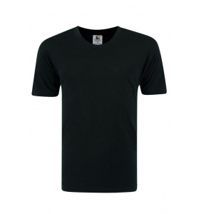 Foursquare RoundNeck T-Shirt (160gsm) -Black