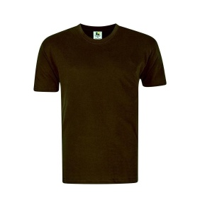 Foursquare RoundNeck T-Shirt (160gsm) -Chocolate