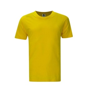Foursquare RoundNeck T-Shirt (160gsm) -Yellow