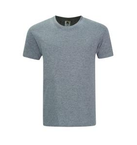 Foursquare RoundNeck T-Shirt (160gsm) -Grey Melange