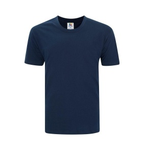 Foursquare RoundNeck T-Shirt (160gsm) -Navy Blue
