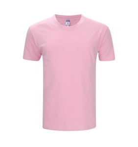 Foursquare RoundNeck T-Shirt (160gsm) -Pink