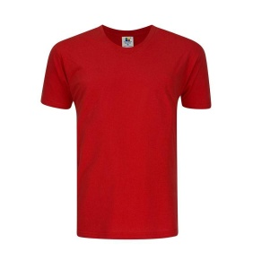 Foursquare RoundNeck T-Shirt (160gsm) -Red