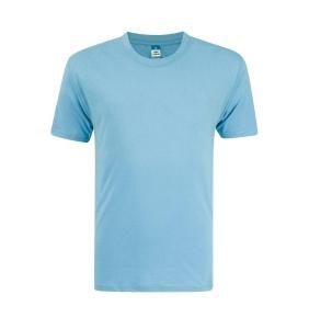 Foursquare RoundNeck T-Shirt (160gsm) -Sky Blue