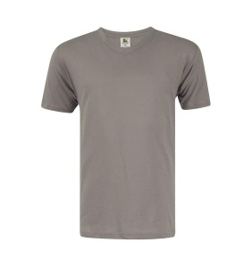 Foursquare RoundNeck T-Shirt (160gsm) - Zinc Grey
