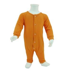 Baby Basic Jumpsuit Orange