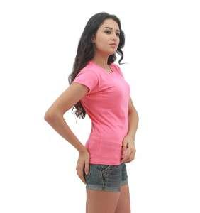 MAXIMUS Ladies Round Neck Pink