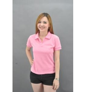Clearance 100% Cotton Polo -Pink