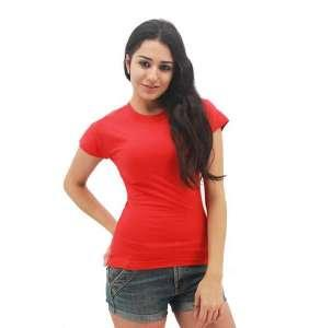 MAXIMUS Ladies Round Neck Red