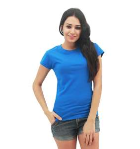 MAXIMUS Ladies Round Neck Royal Blue