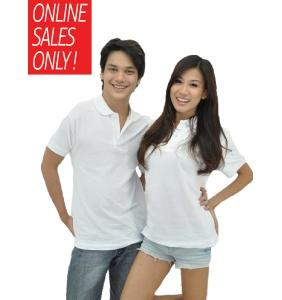 NICE apparel 100% Cotton Polo - White