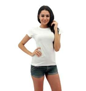 MAXIMUS Ladies Round Neck White
