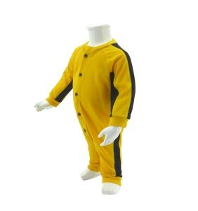 Baby Bruce Lee Jumpsuit Yellow / Black